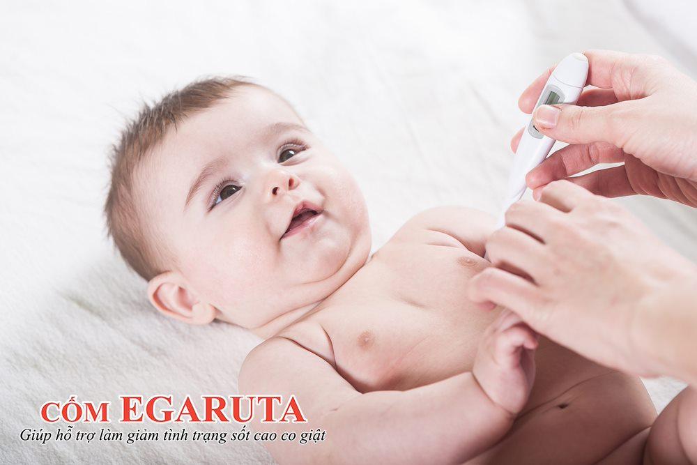 Trẻ có nguy cơ cao xuất hiện cơn co giật khi sốt ≥ 39 độ C